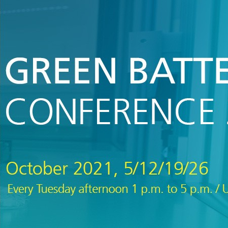 Green Batteries Conference 2021