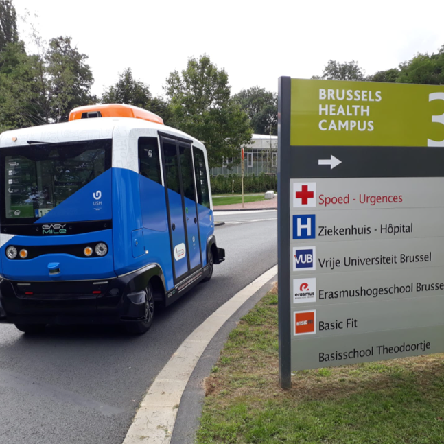 Shuttle Brussels Health Campus