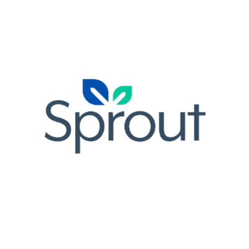 SPROUT logo transparant