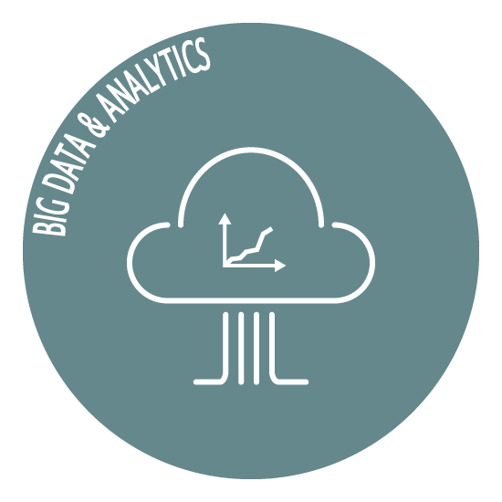 Big data & analytics icon