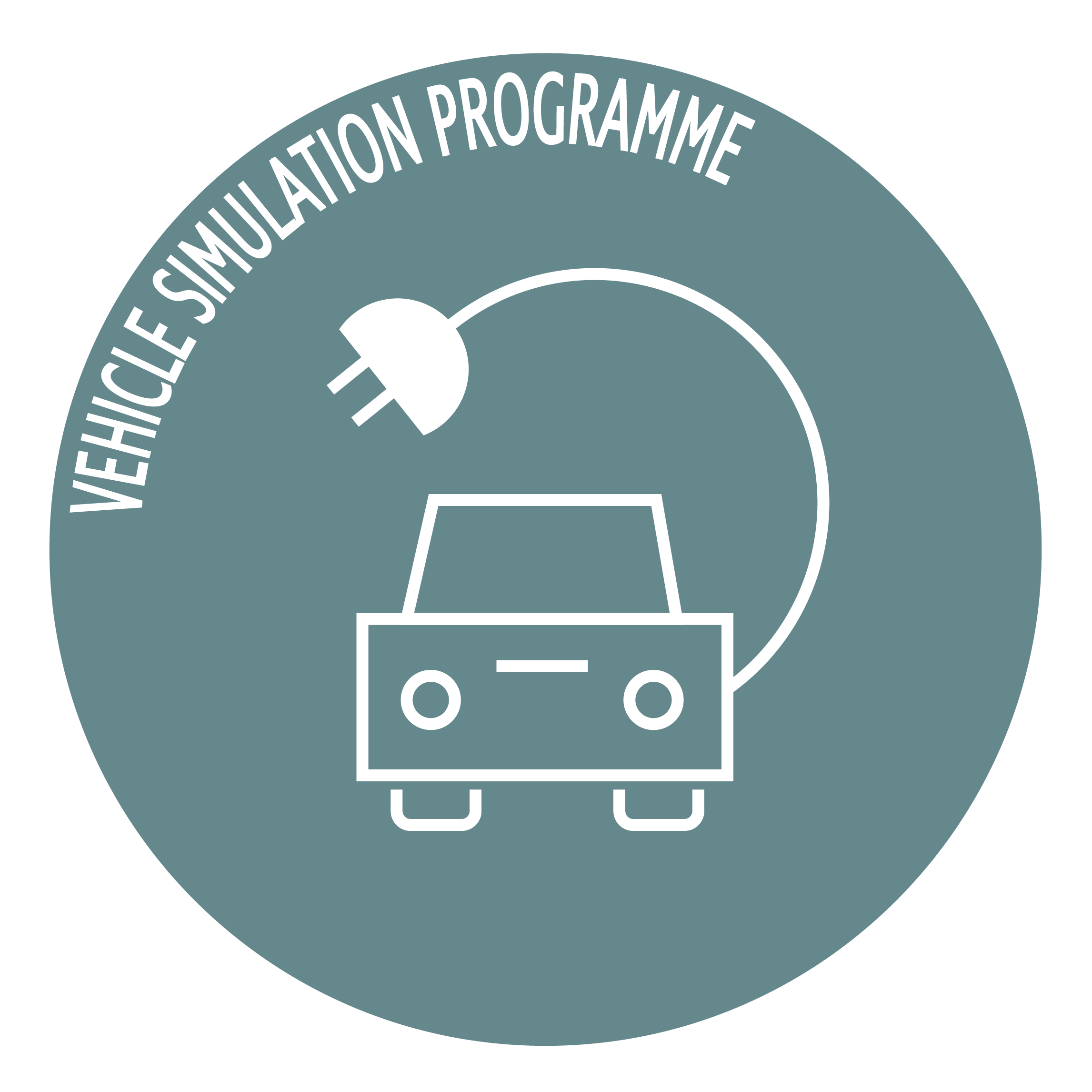 vehicle simulation programme icon