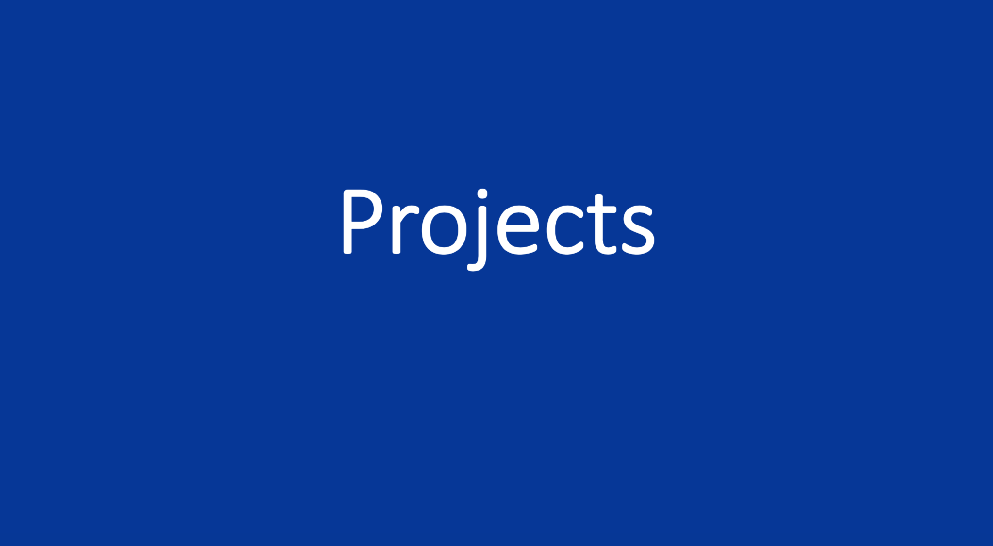 Projects BIC