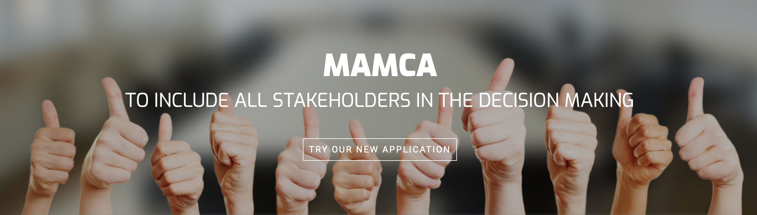 launch: new MAMCA software